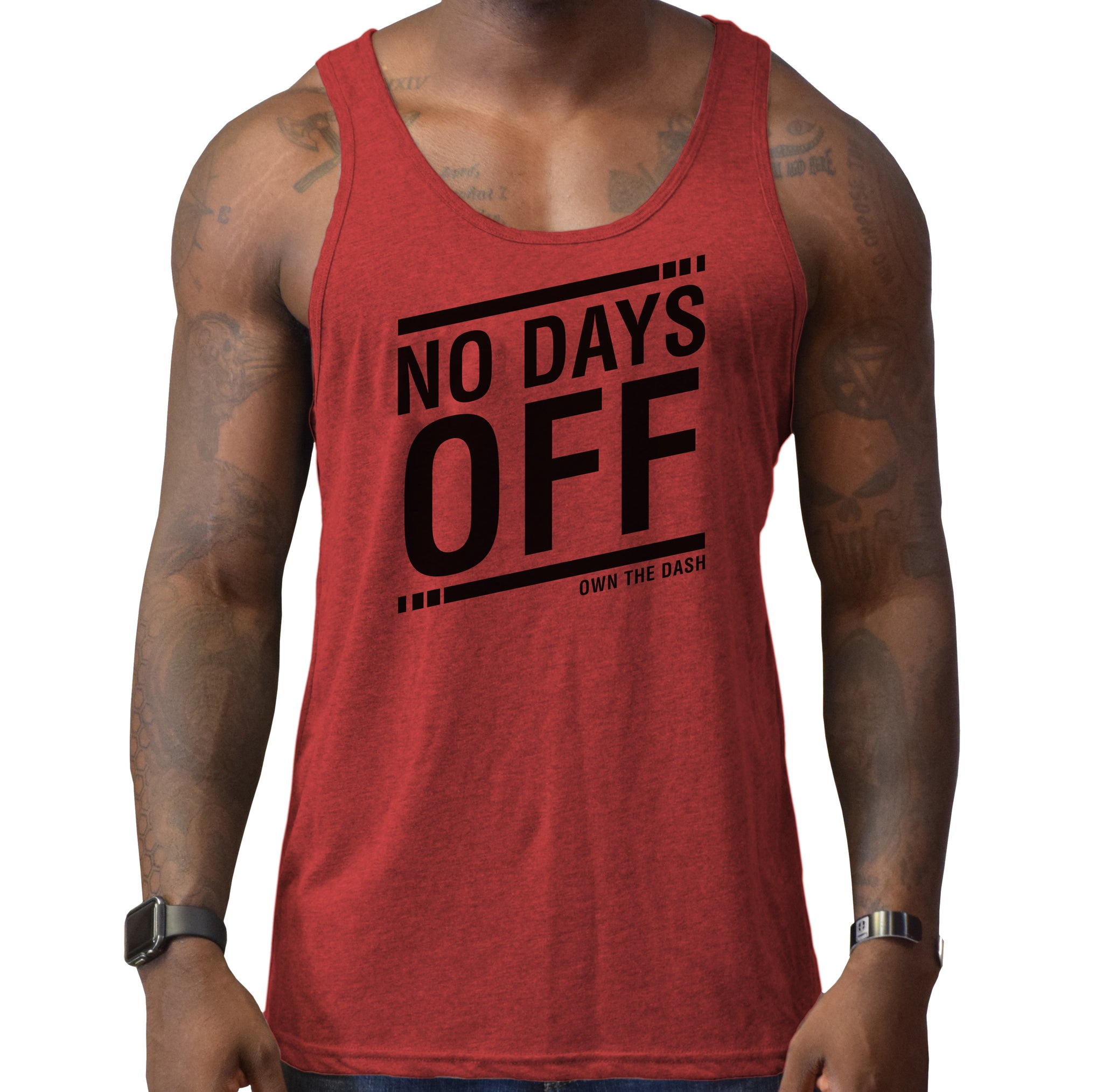 No Days Off - Mens Tank
