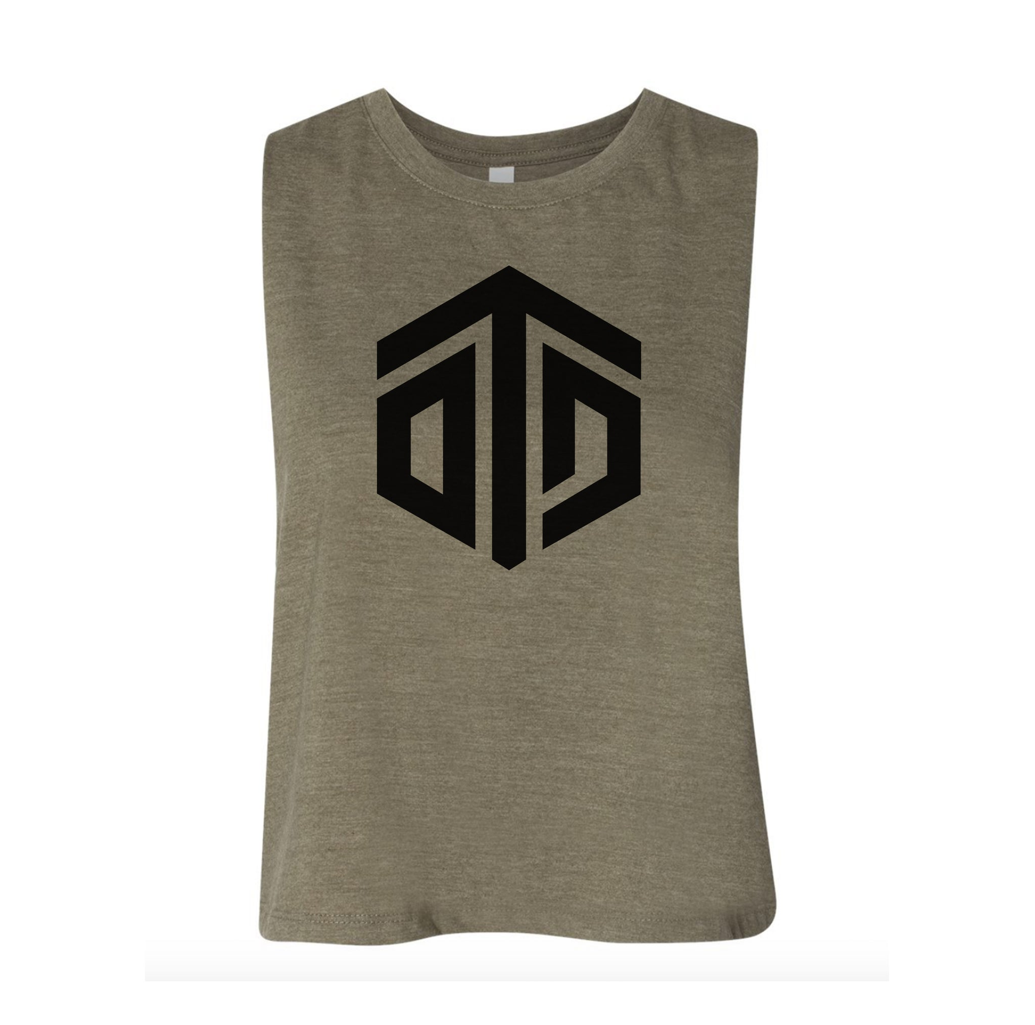 OTD Icon Ladies Crop Tank