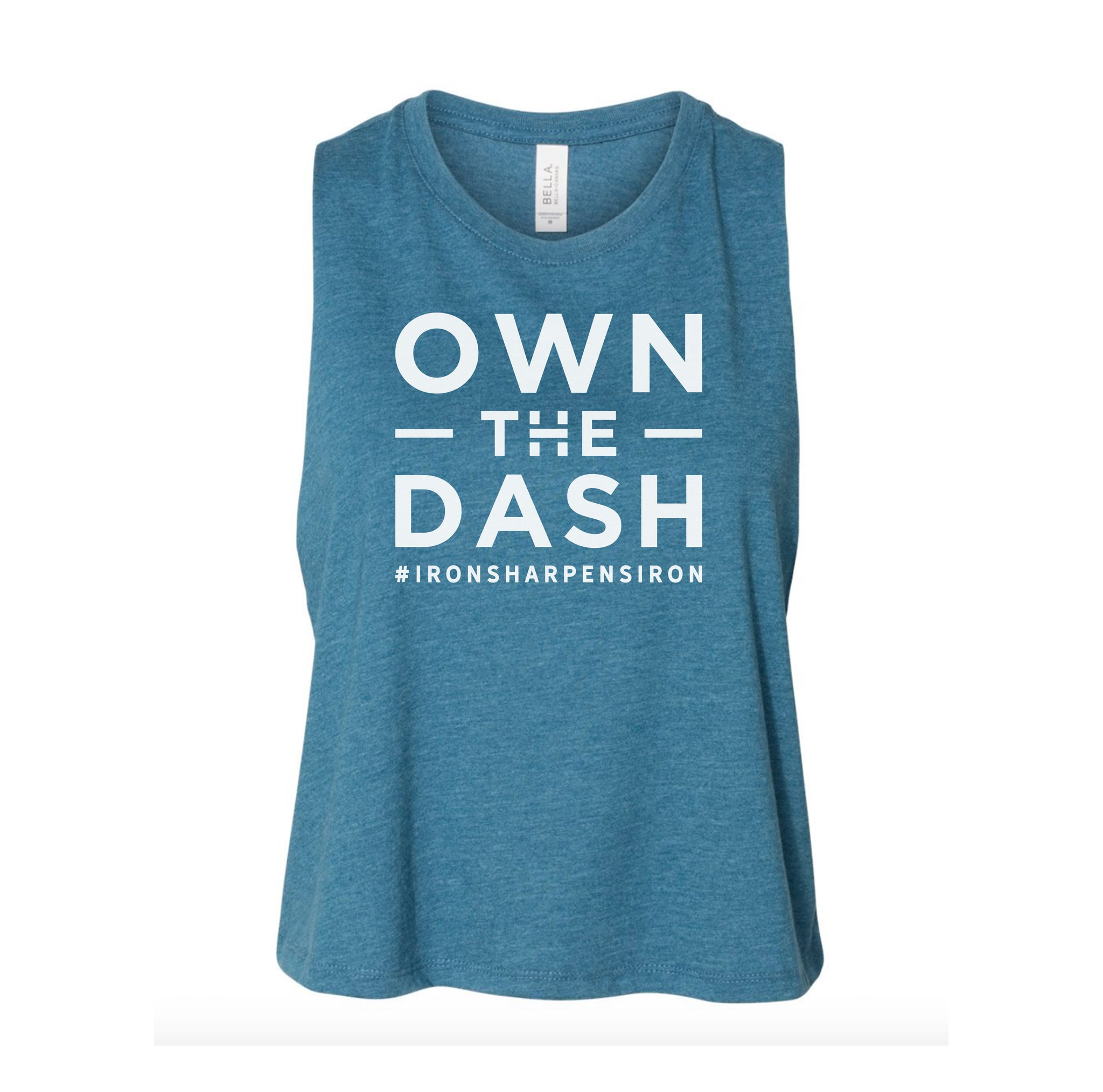 Own The Dash Logo Ladies Crop Tank
