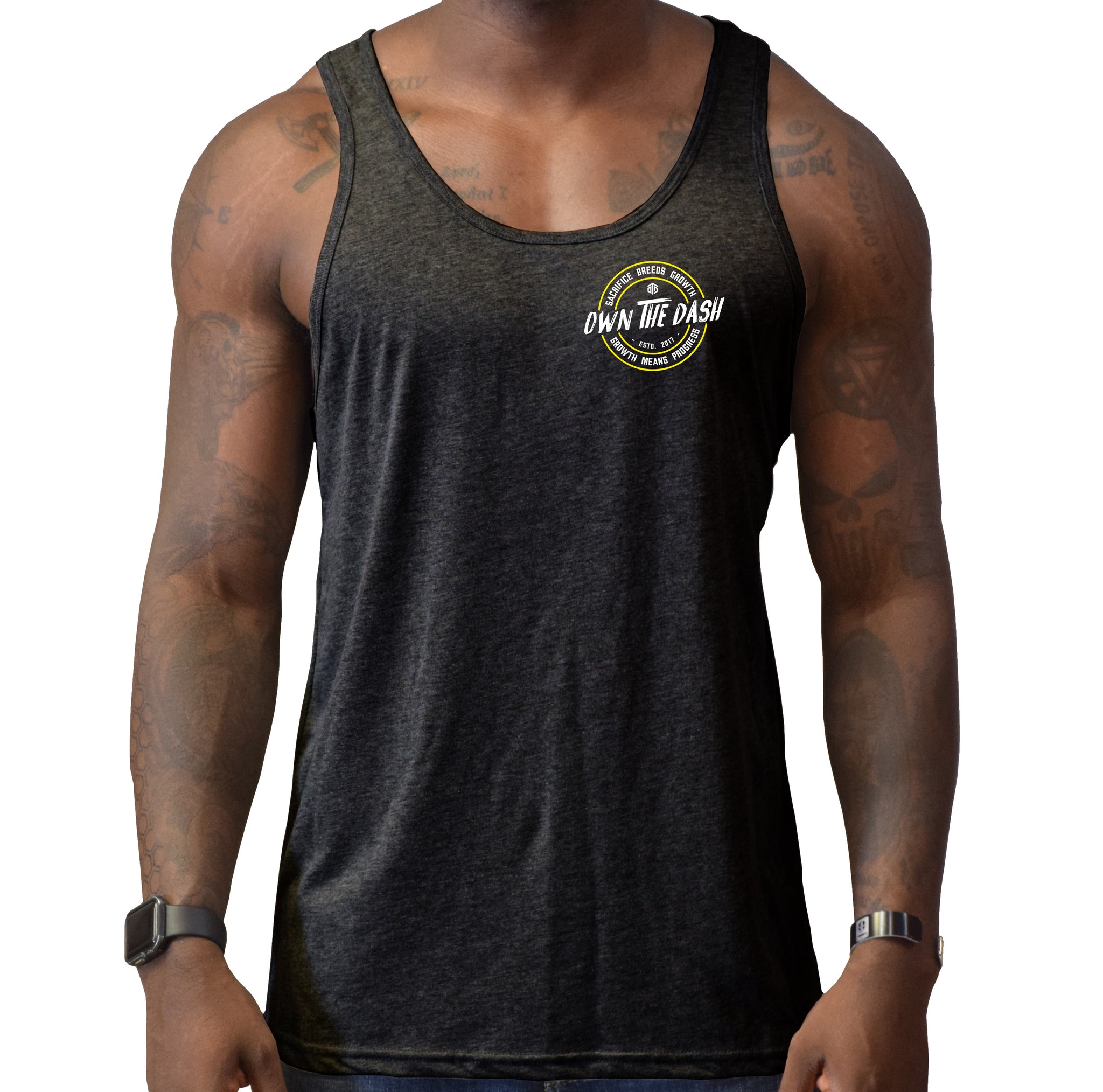 Sacrifice Breeds Growth Men's Tank