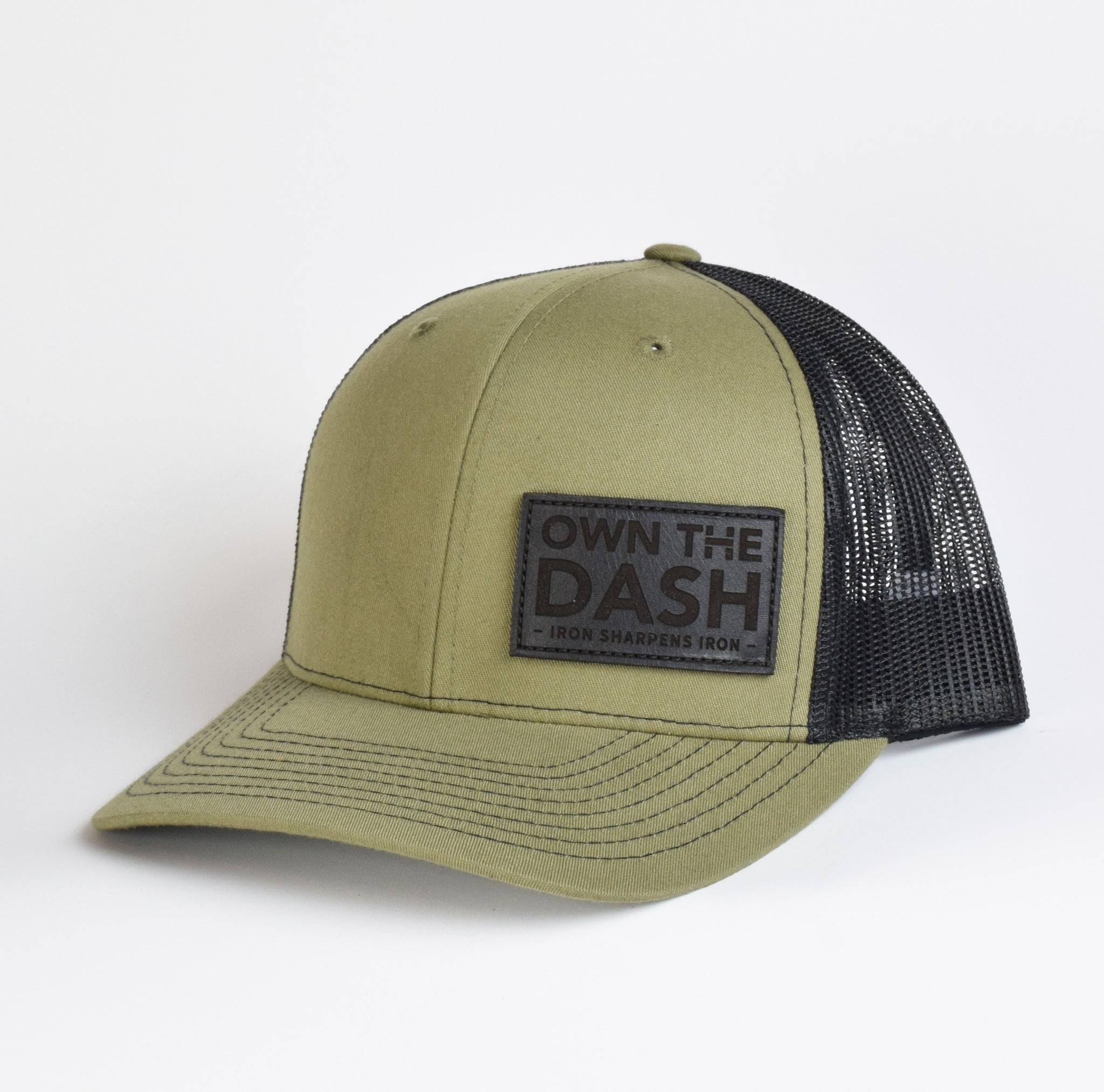 Own The Dash Leather Snap-Back
