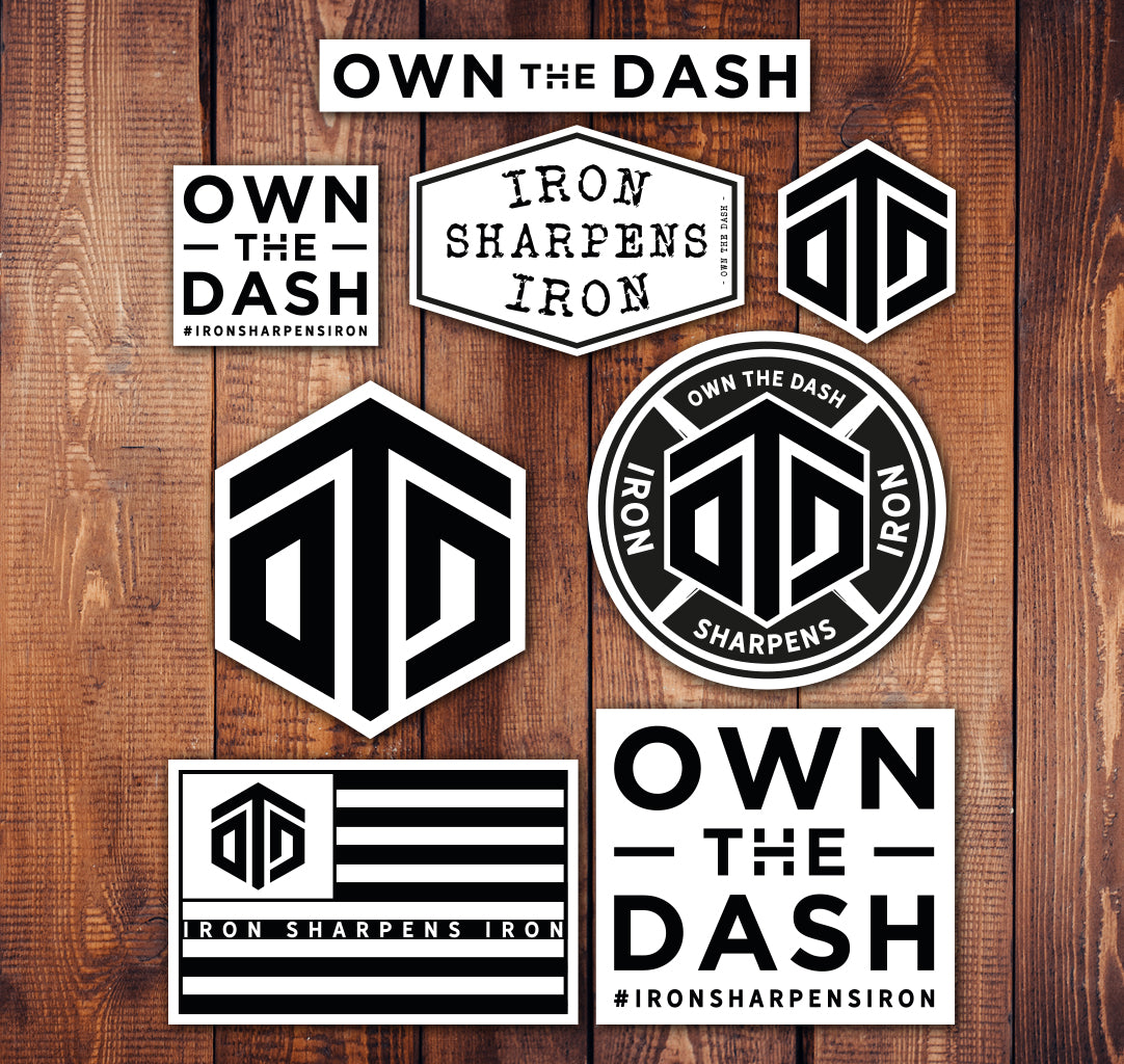 Own The Dash Sticker Sheet