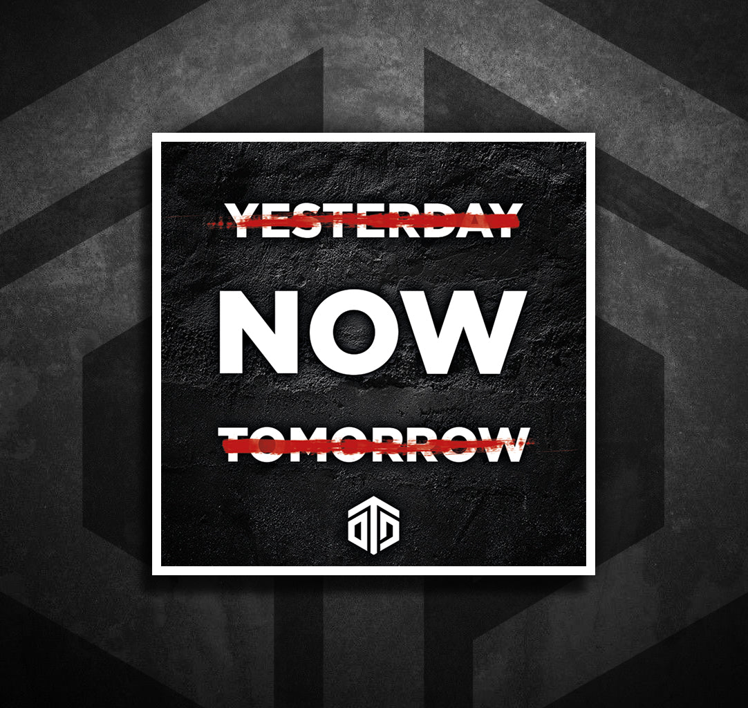 Yesterday Tomorrow Now Sticker