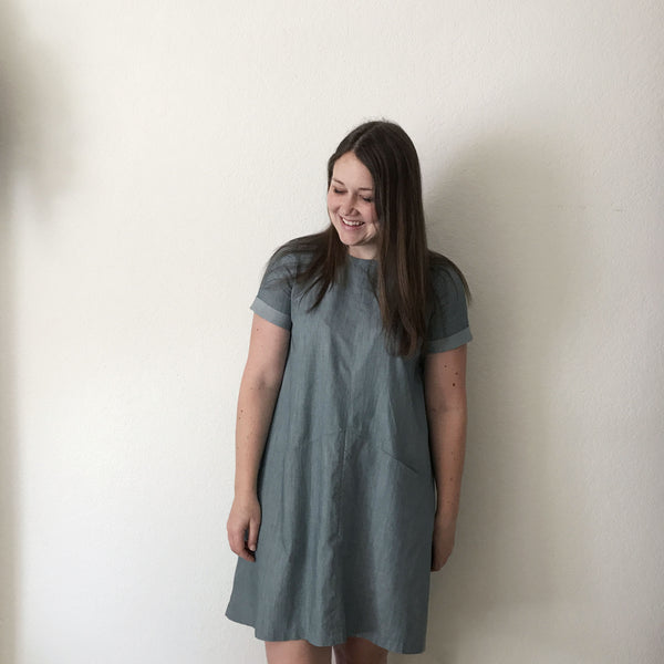 Short-Sleeve Farrow Dress