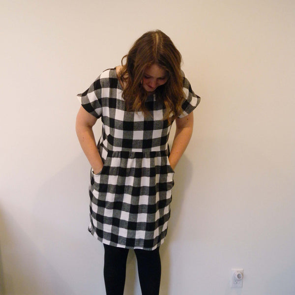 Plaid Fen Dress