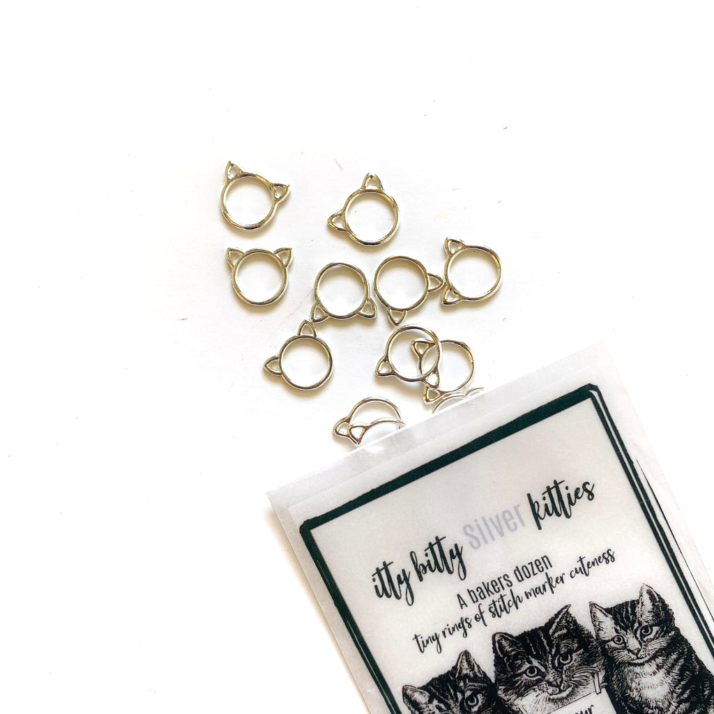 Itty Bitty Kitties Stitch Markers