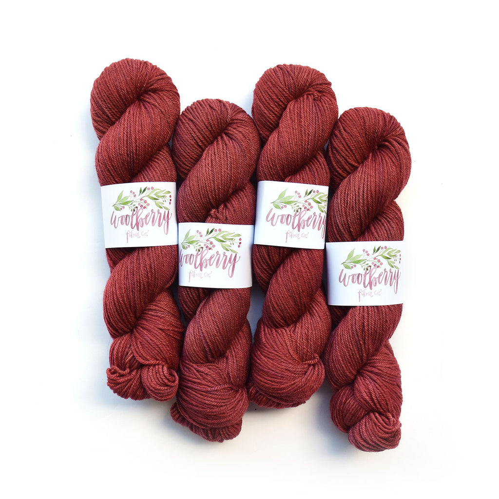 Berry Natural Worsted - Woolberry Fiber Co