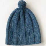 Ribbstickad Hat Pattern