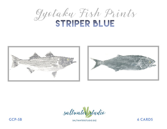 Striper Blue Card Package
