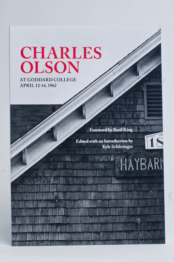 Charles Olson at Goddard College