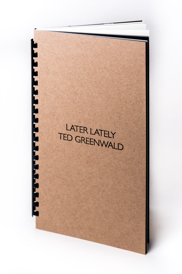 Ted Greenwald : Later Lately