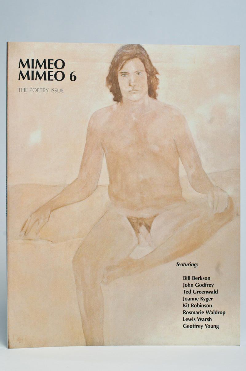 Mimeo Mimeo #6 : The Poetry Issue