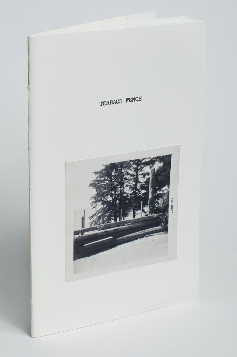 Bill Berkson : Terrace Fence