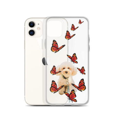 iPhone Case - Red Butterflies