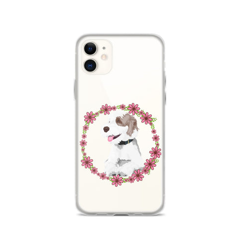 iPhone Case - flowers frame