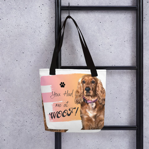 Beach Bag - you had me at woof