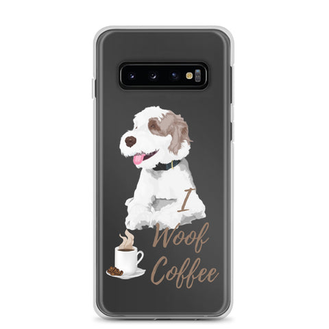 Samsung Case - I Woof Coffee