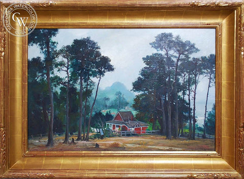 Emil Kosa Jr. - Lobos, Carmel, an original California oil painting for sale, original California art for sale - CaliforniaWatercolor.com