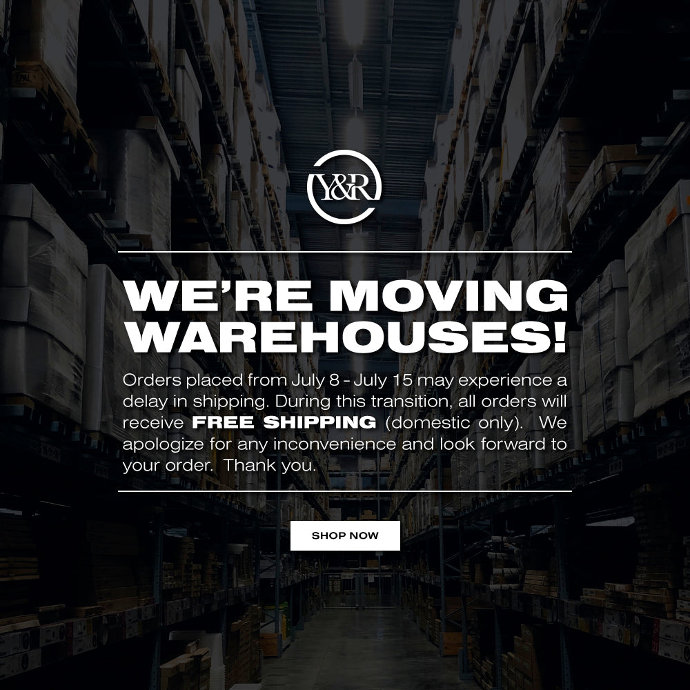 We're Moving Warehouses!