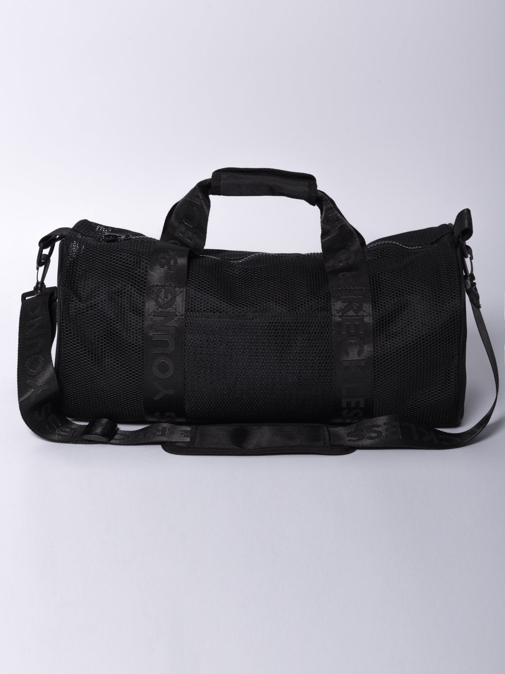 ... Reckless Girls Womens - Accessories - Bags   Packs Stacy Mesh Duffle Bag-  Black ...