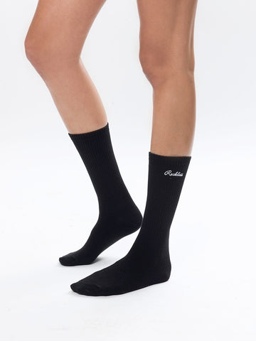 Reckless Girls Womens - Accessories - Socks Elysian Mid Socks- Black