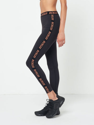 Reckless Girls Womens - Activewear - Leggings Brooklyn Leggings- Black