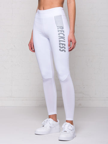 Reckless Girls Womens - Activewear - Leggings Erin Leggings - White