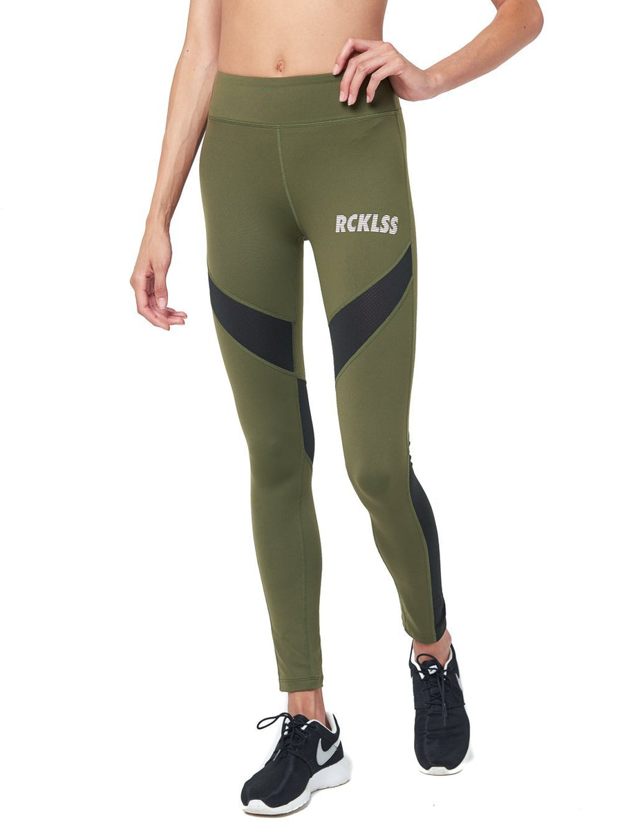 4d01f6abfffdad Reckless Girls Womens - Activewear - Leggings Ivy Leggings- Olive