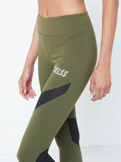 Reckless Girls Womens - Activewear - Leggings Ivy Leggings- Olive