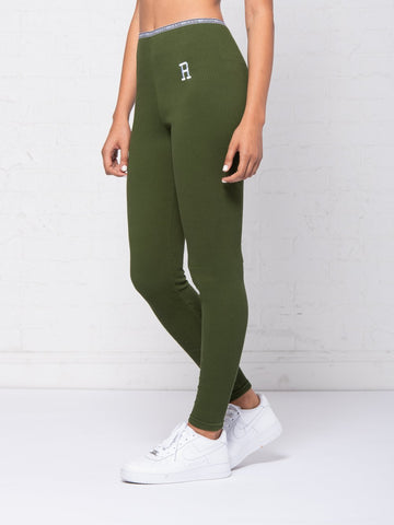 Reckless Girls Womens - Activewear - Leggings Jocelyn Leggings - Olive