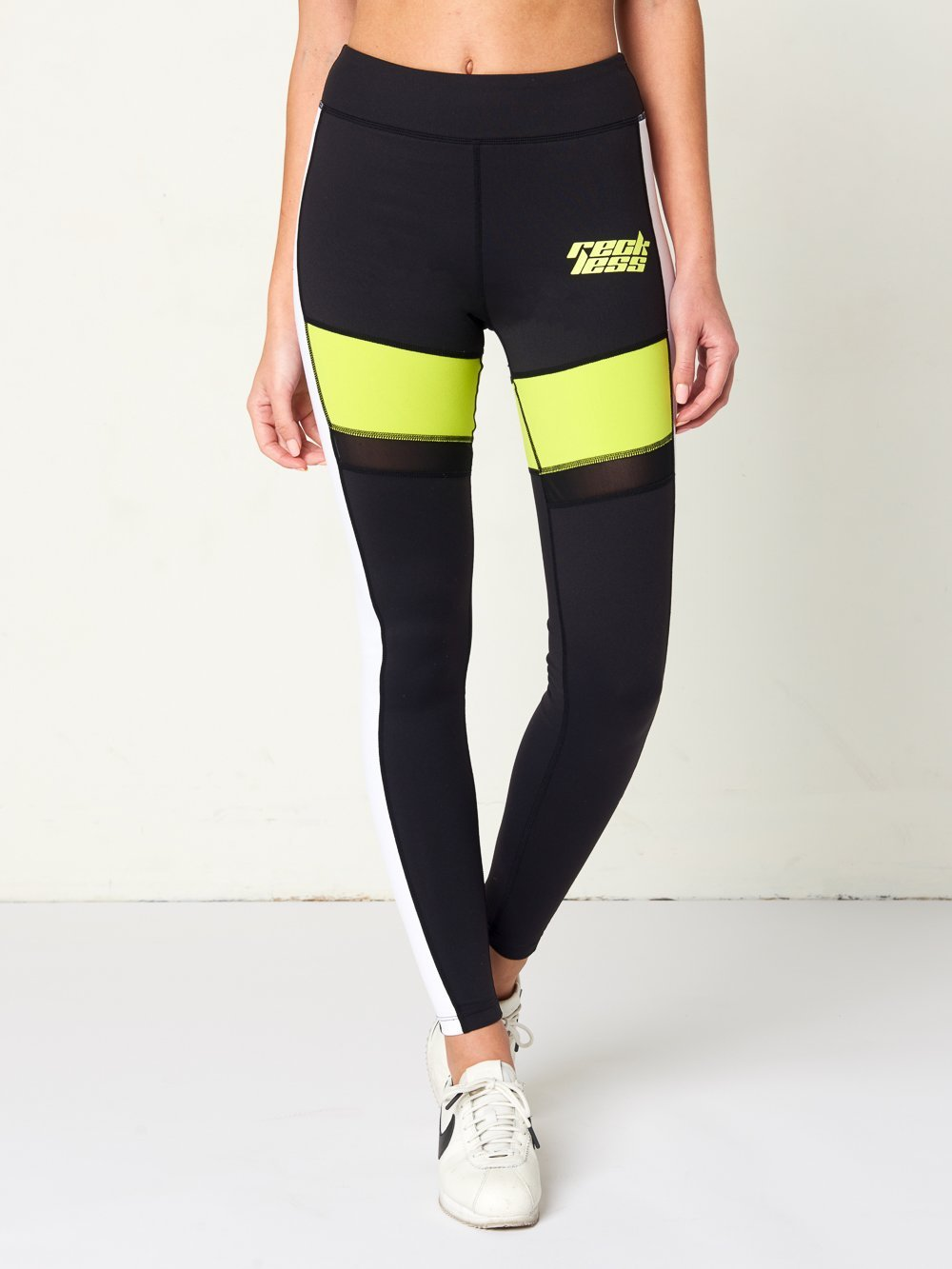 Reckless Girls Womens - Activewear - Leggings Luna Leggings- Black