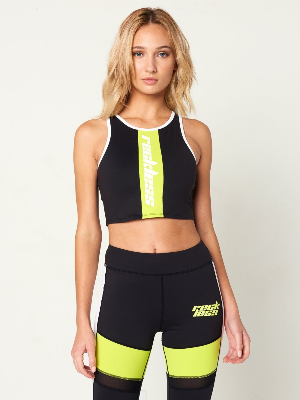 Reckless Girls Womens - Activewear - Tops Paisley Sports Bra- Black