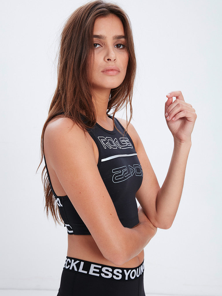 Reckless Girls Womens - Activewear - Tops Two Way Sports Bra