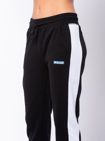 Desire Sweatpants - Black/Blue
