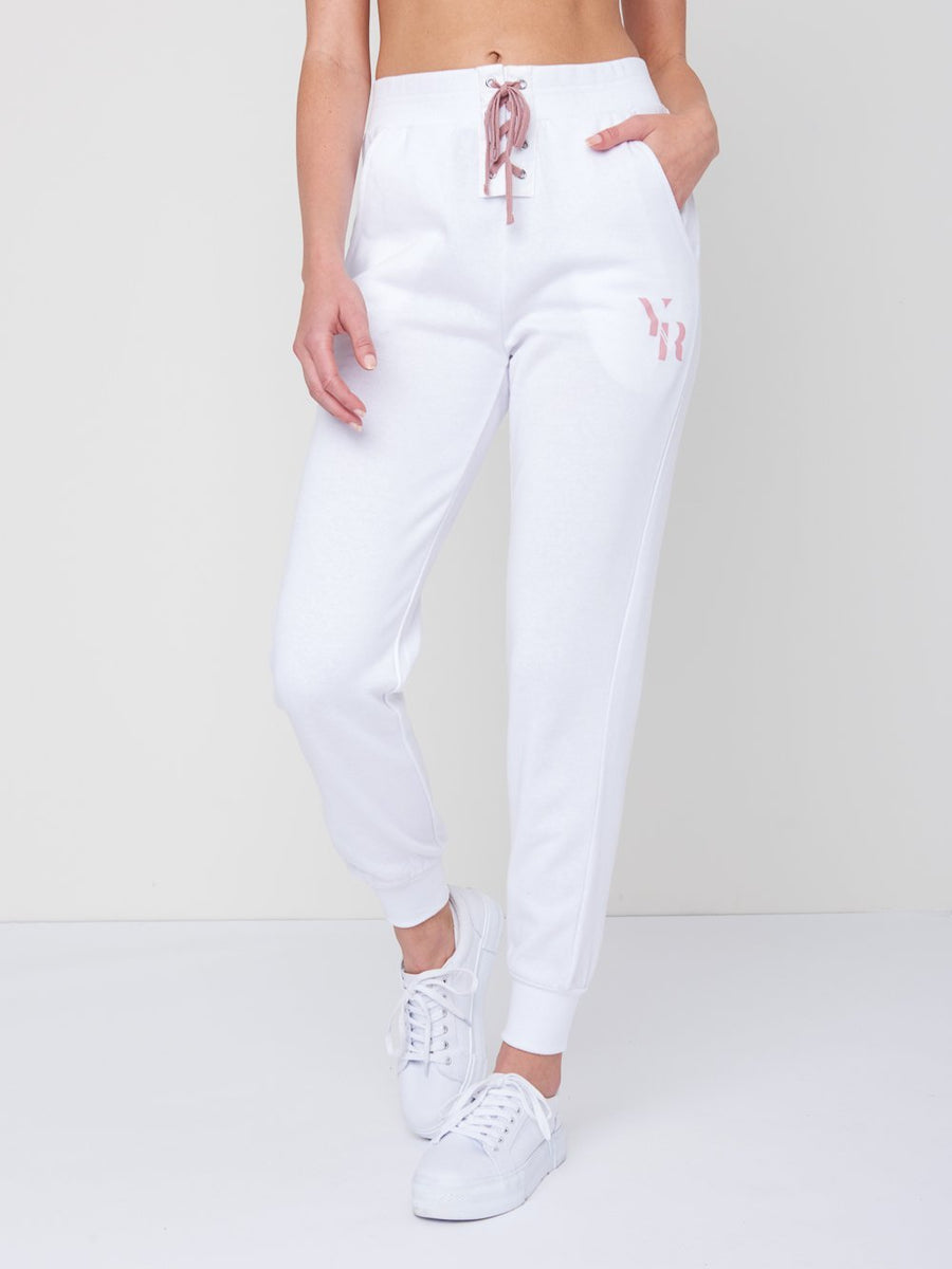 Reckless Girls Womens - Bottoms - Pants Kellie Sweatpants- White