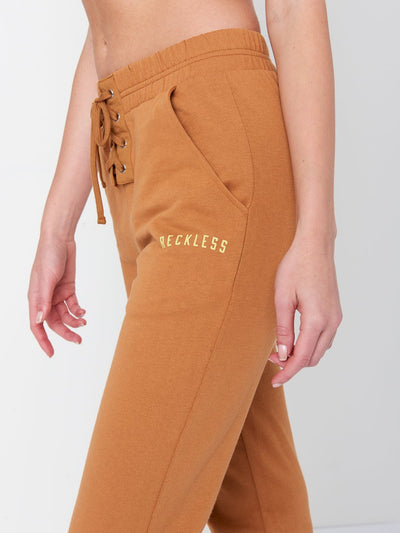 Reckless Girls Womens - Bottoms - Pants Sam Sweatpants- Orange