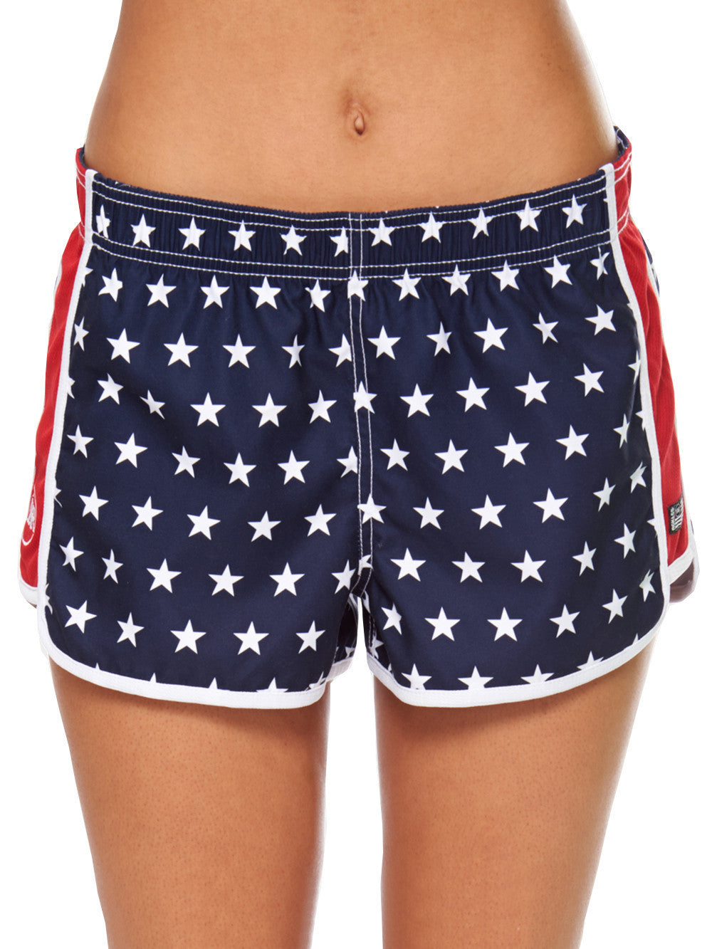 66c5b2e2f63f1 Reckless Girls Womens - Bottoms - Shorts Red White And Blue Shorts ...