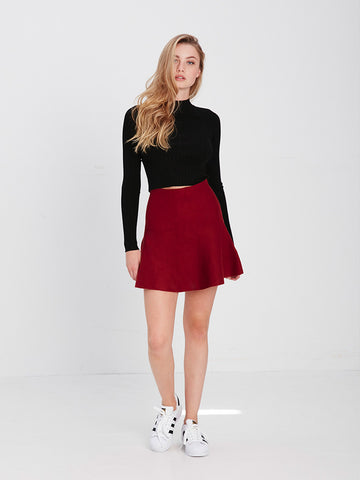 Meghan Mini Skirt - Red