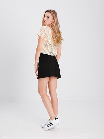 Nash Mini Skirt - Black