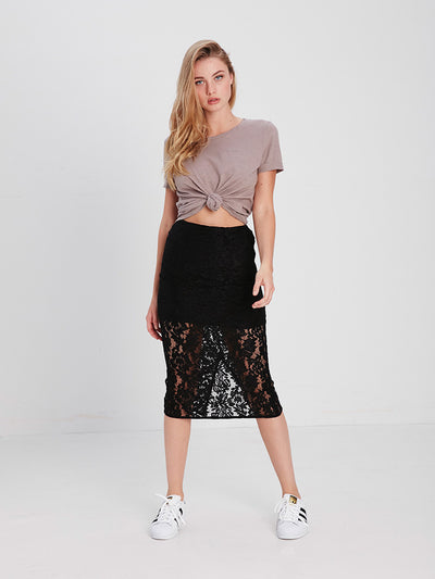 Reckless Girls Womens - Bottoms - Skirts Scarlett Midi Skirt