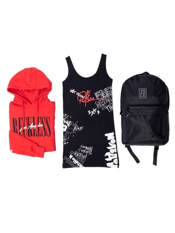 Reckless Girls Womens - Bundles Griffon Bundle - Black/Red