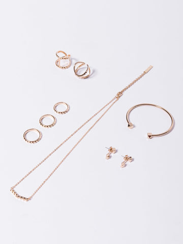 Reckless Girls Womens - Bundles Vega Jewelry Bundle - Gold