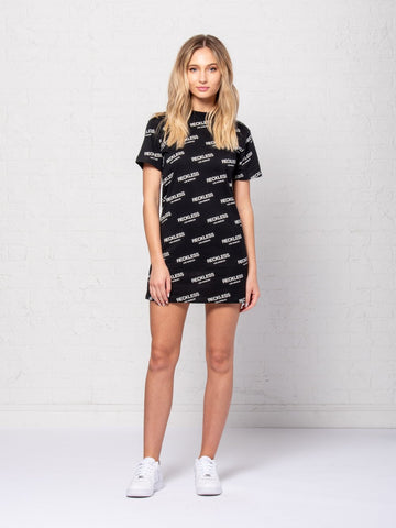 Reckless Girls Womens - Dresses / Rompers Encore Jr Dress - Black/White