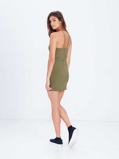 Reckless Girls Womens - Dresses / Rompers - Mini Shay Mini Dress - Olive