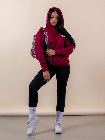Reckless Girls Womens - Fleece - Hoodies Hotline Hoodie - Burgundy
