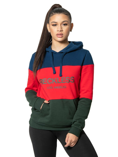 Reckless Girls Womens - Fleece - Hoodies Mondrian Jr. Hoodie - Multi XS / MULTI