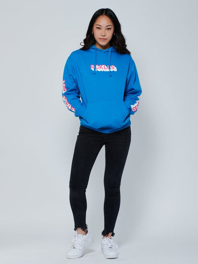 Reckless Girls Womens - Fleece - Hoodies Shadow Hoodie - Blue