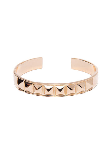 Reckless Girls Womens - Jewelry - Bracelet Gold Pyramid Bracelet