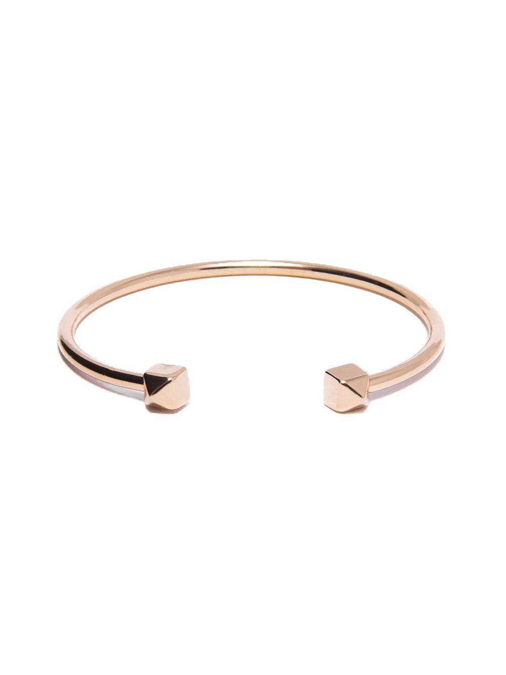 Reckless Girls Womens - Jewelry - Bracelet Gold Pyramid - Tipped Bangle