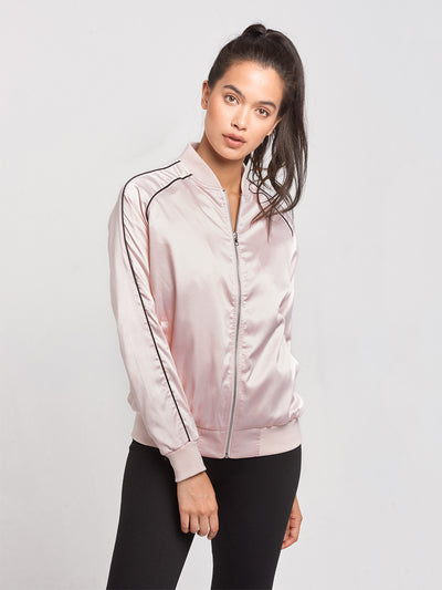 Reckless Girls Womens - Outerwear - Lightweight Jackets RG Ladies Jacket- Pink